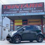 Toyota IQ•7,5x17 rims•215/45R17 Continental Premium Contact 6