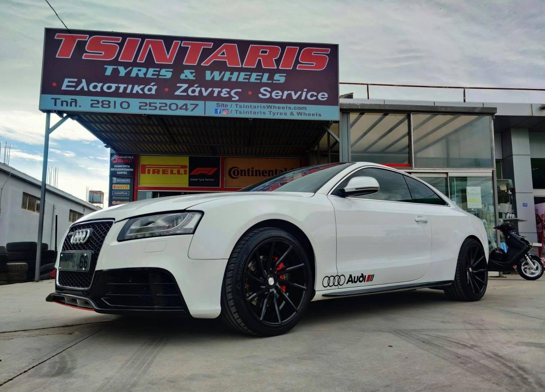 Audi A5 shines on 19'' Vossen Wheels🖤