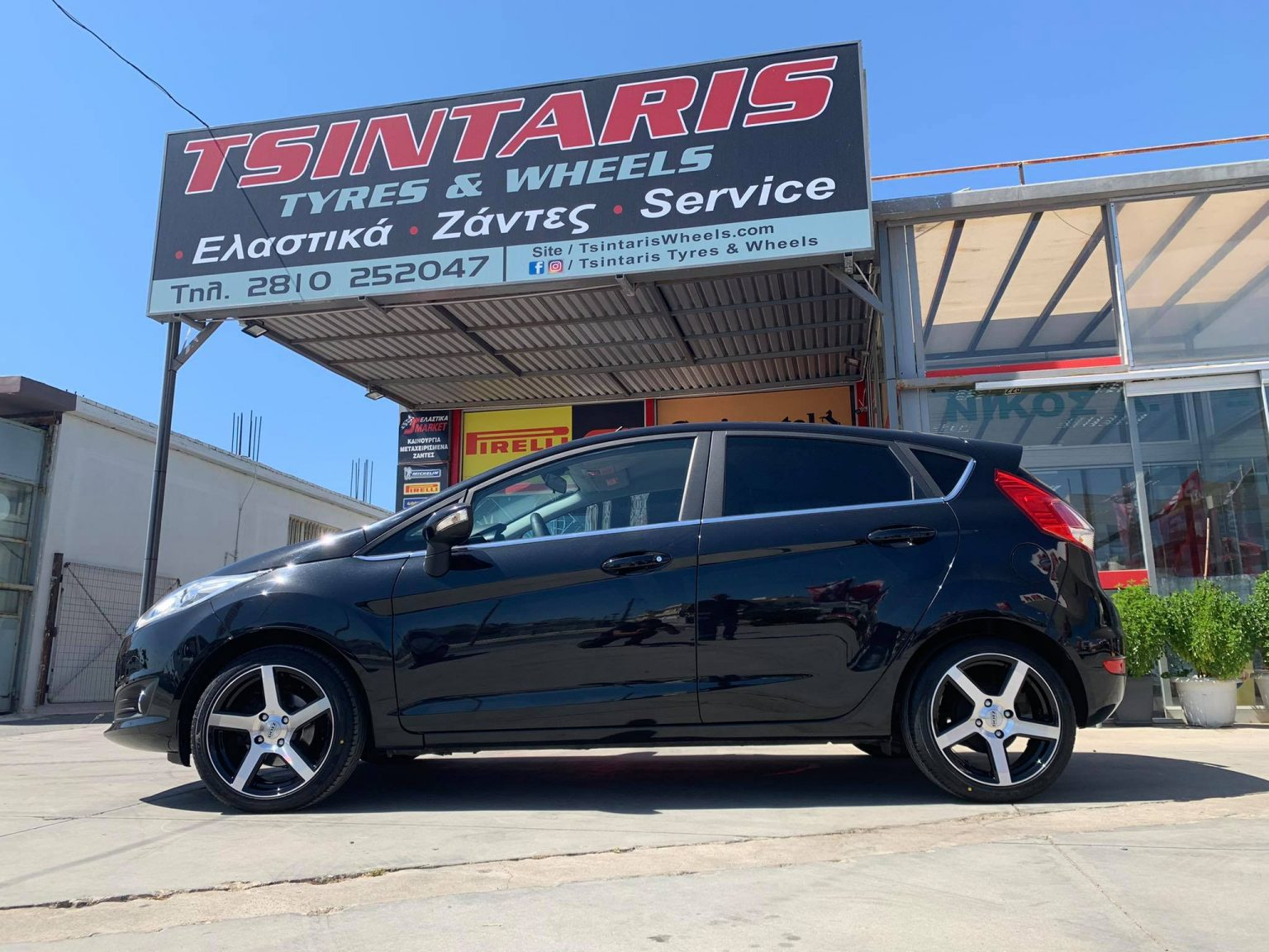 """Dotz Wheels 16"""" on Ford Fiesta"""