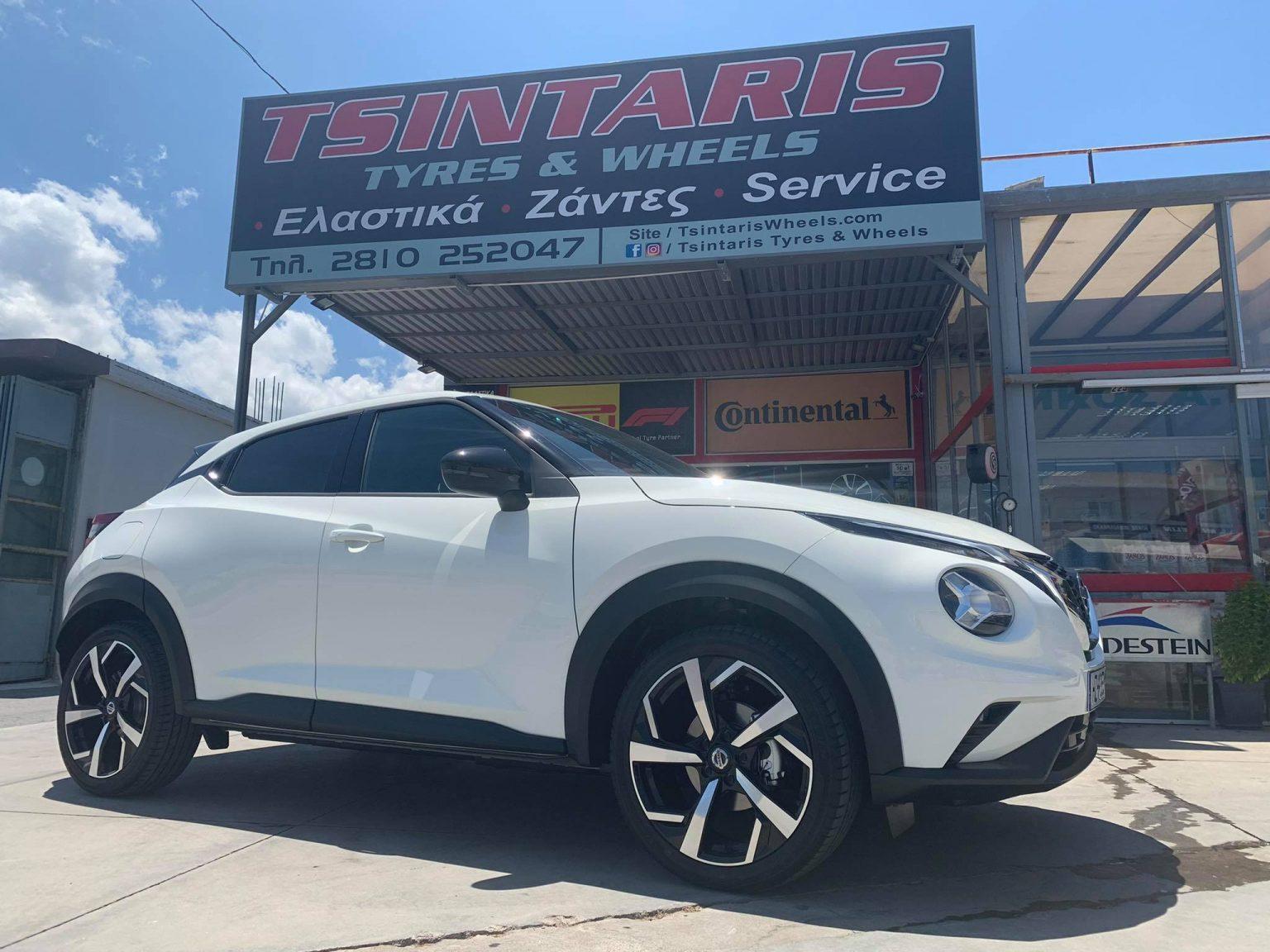 """Nissan Juke 2021 on 19"""" replica wheels!"""
