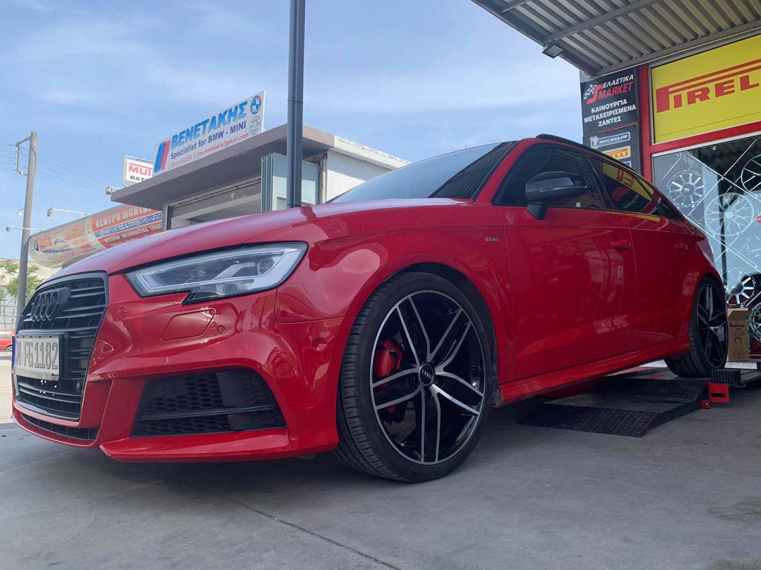 "Audi A3 Sline on 19"" Wheels"